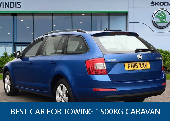 best car for towing a 1500kg caravan