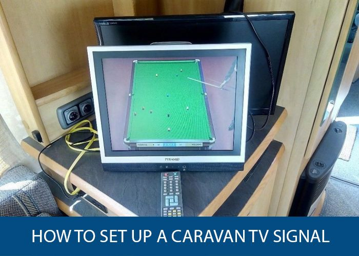 how to set up a caravan tv signal
