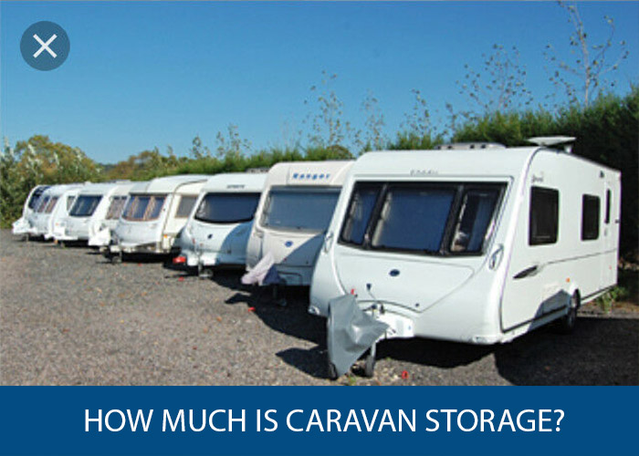 how much is caravan storage