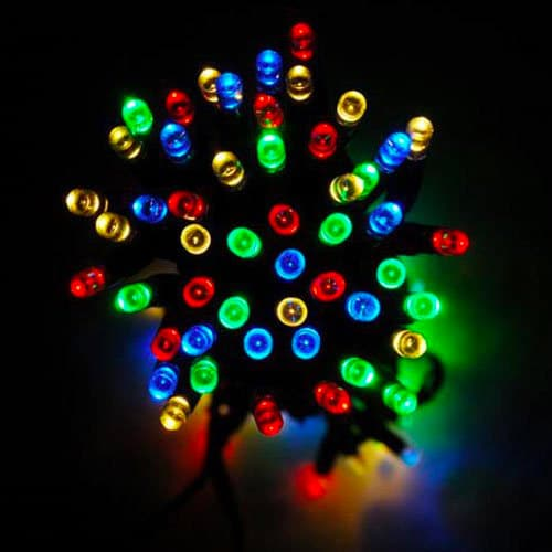 Breeze Solar LED Fairy Lights Mixed Colour