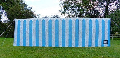 Olpro Picket Fence 4 Pole Windbreak