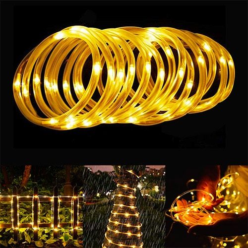 BlueFire Solar LED Rope Lights