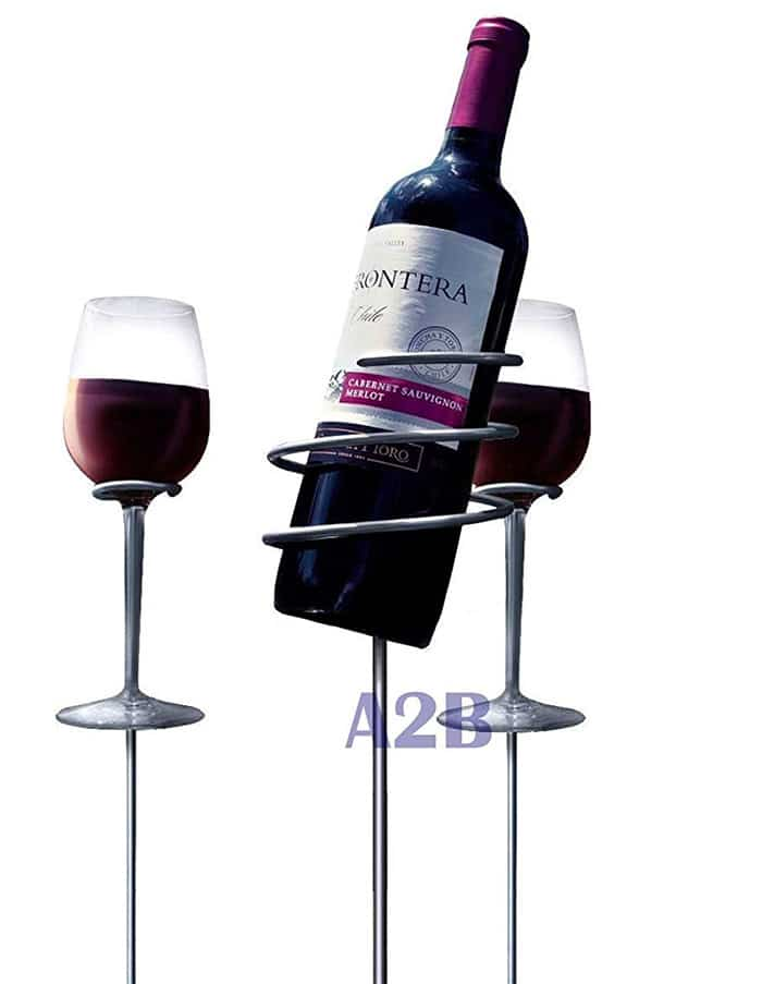 A2B Shopping Ltd Picnic Wine Bottle Holder