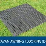 Caravan Awning Flooring ideas