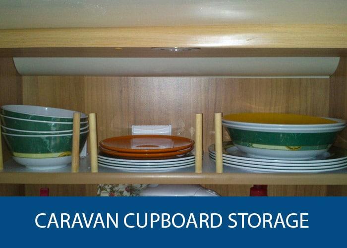caravan cupboard storage