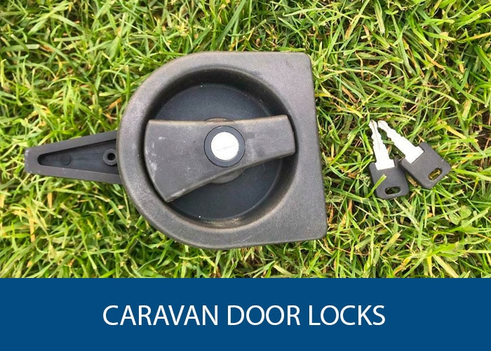 caravan door locks