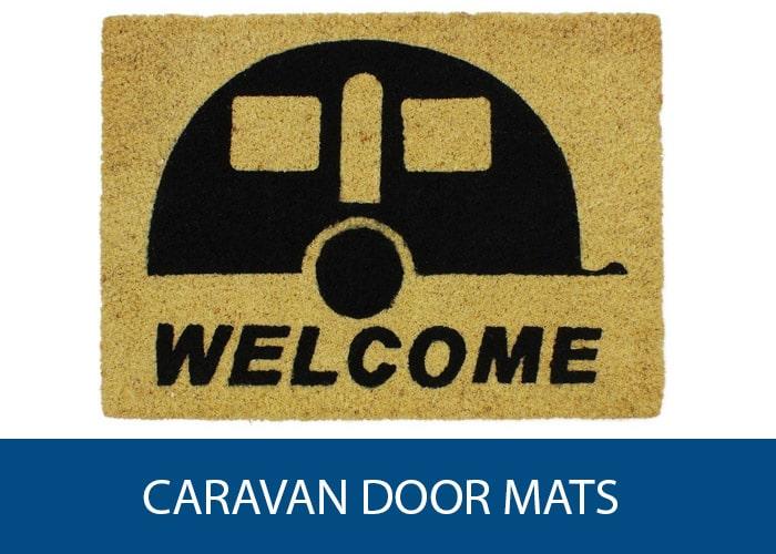 caravan door mats