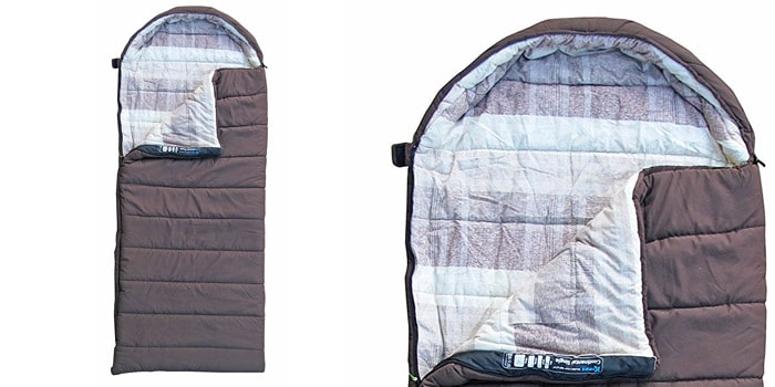 Kampa Continental Single Luxury Sleeping Bag