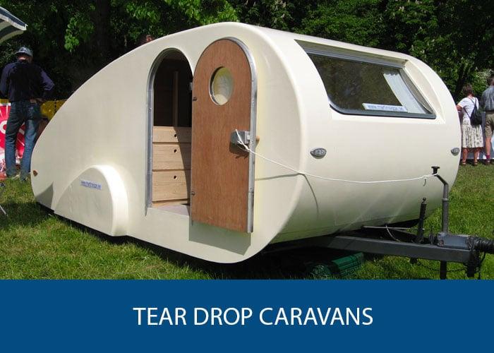 tear drop caravans