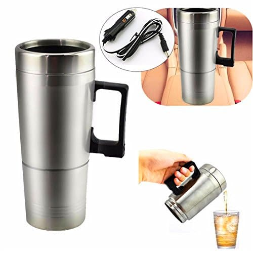 Gozar 12v Portable Thermos Heating Cup Coffee Maker