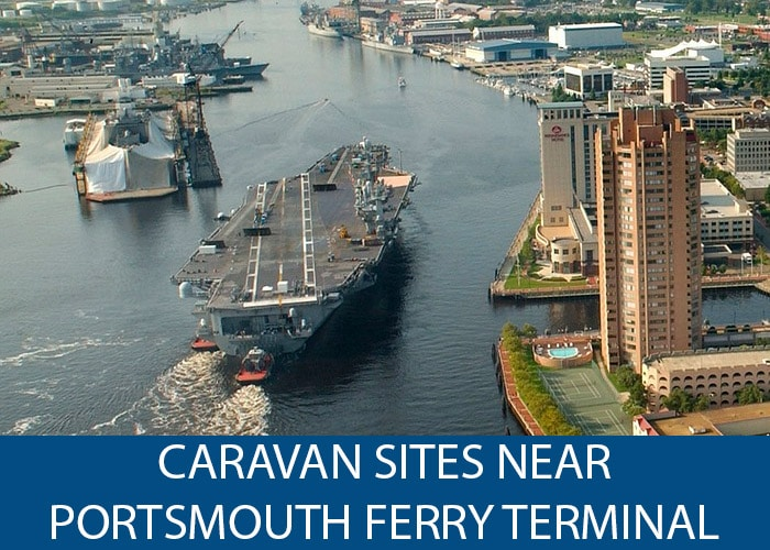 Caravan Sites Near Portsmouth Ferry Terminal