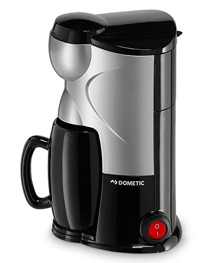 Dometic's MC-01 12v One Cup Coffee Maker