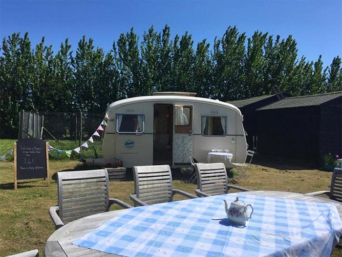 bessie the caravan