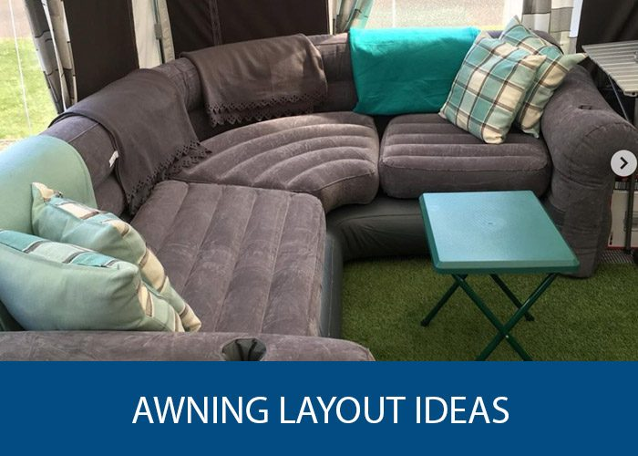 Caravan Awning Layout Ideas