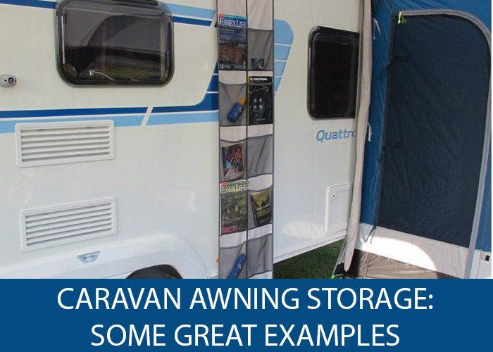 Caravan Awning Storage