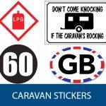 Caravan Stickers