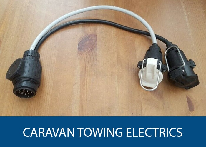 caravan towing electrics