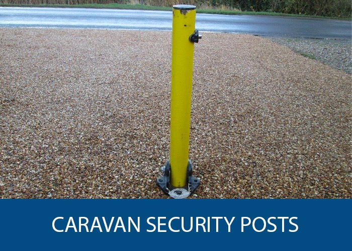 caravan security posts