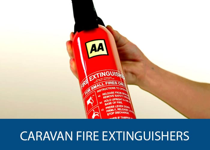 caravan fire extinguishers