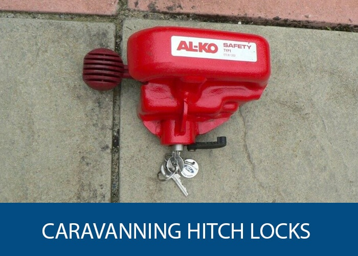 caravan hitch locks