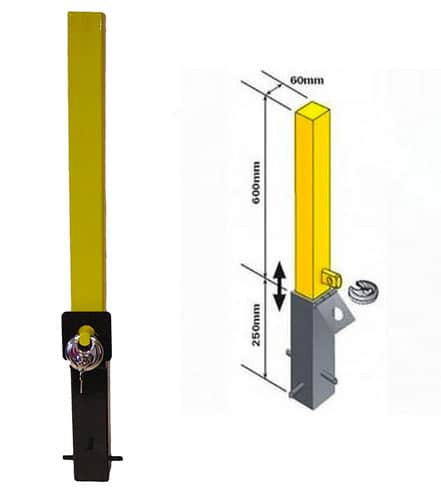Maypole MP9731 Removable Security Post