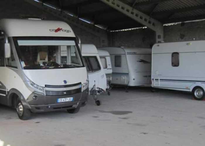 South West France Caravan Storage