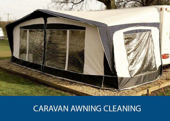 caravan awning cleaning