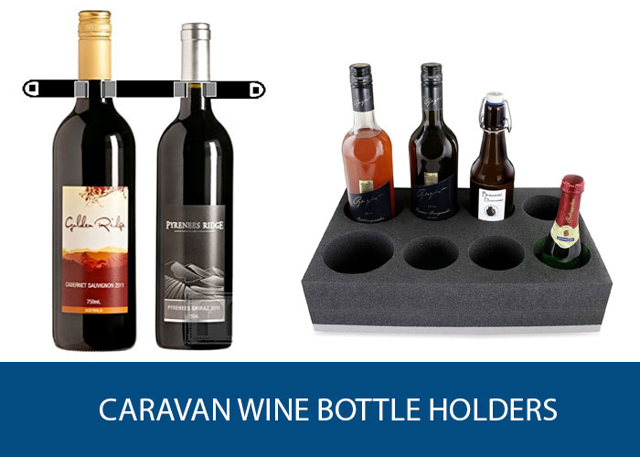 caravan wine bottle holder