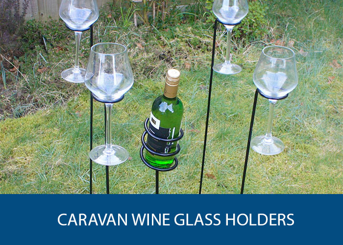 caravan wine glass holders