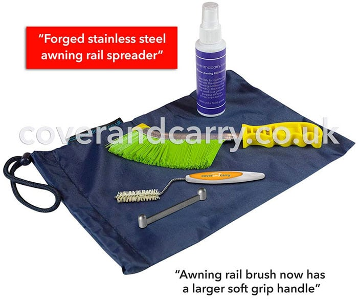 Coverandcarry Awning Rail Care Kit