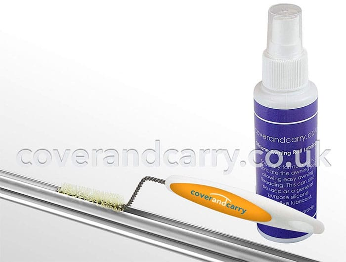 Coverandcarry Awning Rail Brush and Lubricant