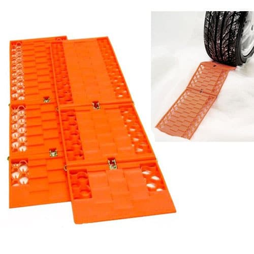 Jazooli Pair Tyre Wheel Grip Traction Mat Tracks