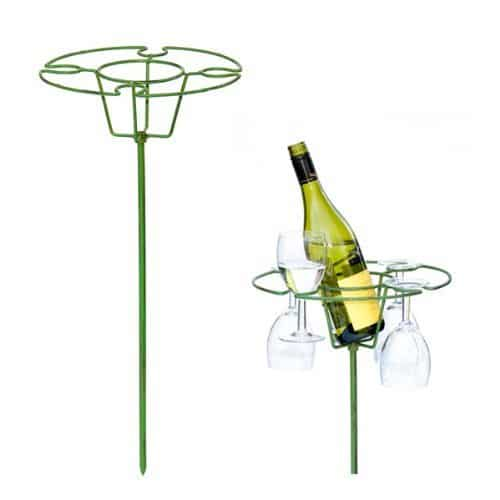 Frames by Post Wimbledon Wine and Glasses Holder