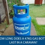 How Long Does a 47kg Gas Bottle Last in a Caravan?