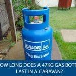 How Long Does a 47kg Gas Bottle Last in a Caravan?