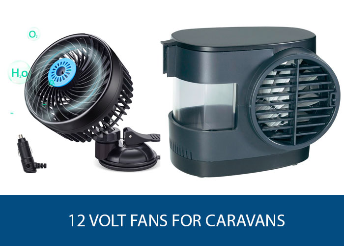 12v fans for caravans
