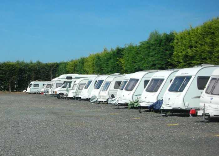 Caravan Storage at Tregoad Park