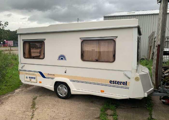 Esterel Folding Caravan Models