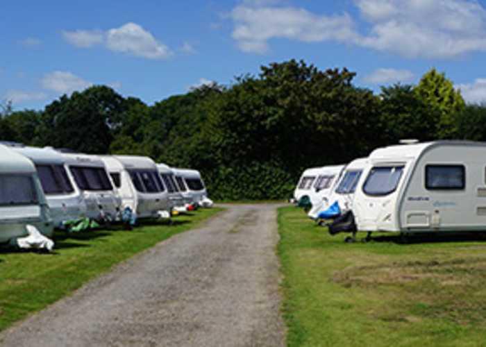 Lucky-lite Caravan Storage