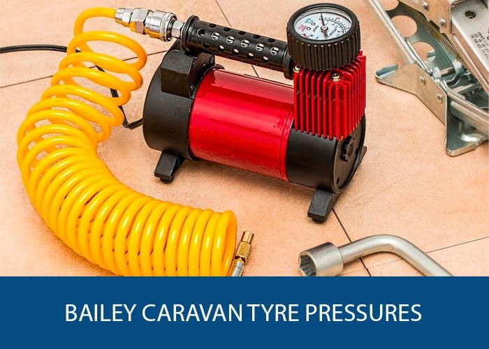 bailey caravan tyre pressure
