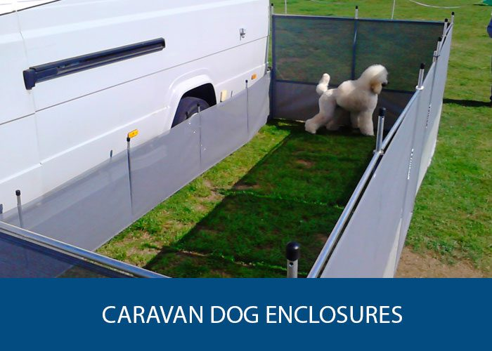 caravan dog enclosures