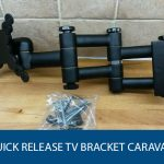 Quick Release TV Bracket Caravan