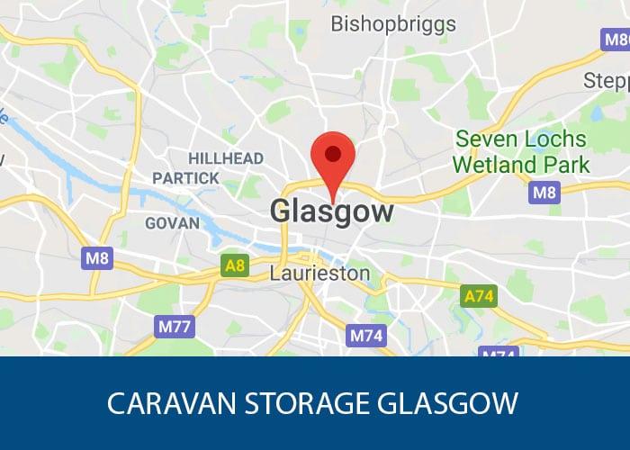 caravan storage glasgow