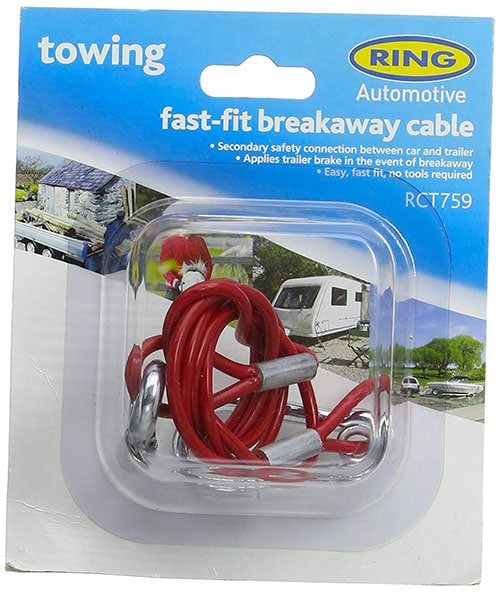 Red W4 Easy-Fit Breakaway Cable