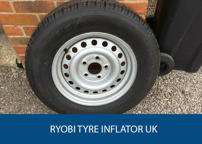 Ryobi Tyre Inflator UK - Caravan Accessories