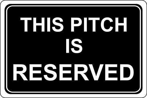 this pitch is reserved