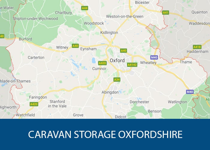 caravan storage oxfordshire