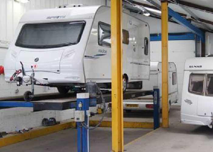 Westby Hall Caravan Storage