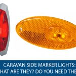 Caravan Side Marker Lights