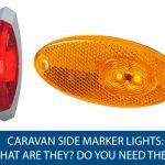 Caravan Side Marker Lights
